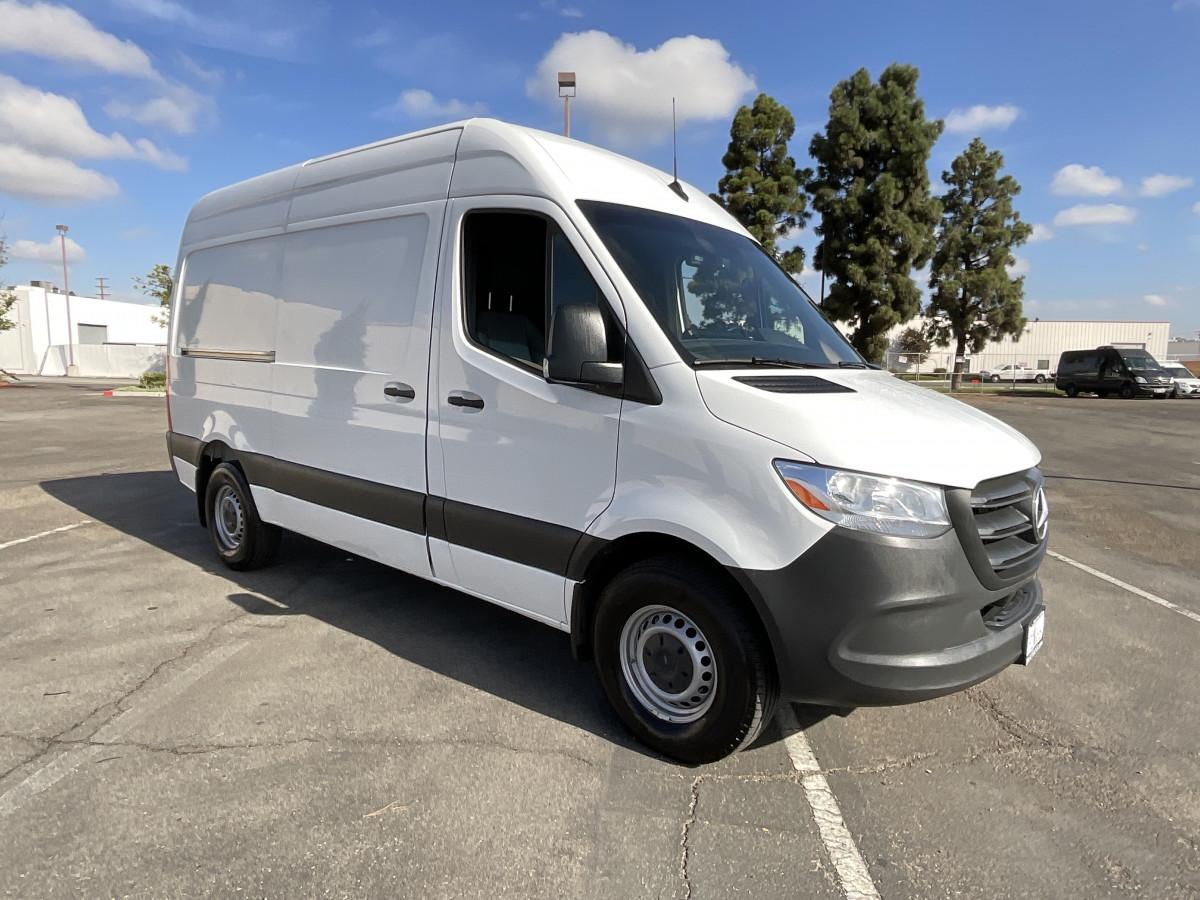 Used 2021 Mercedes-Benz Sprinter 2500 Cargo Van 144WB in Fountain Valley, CA