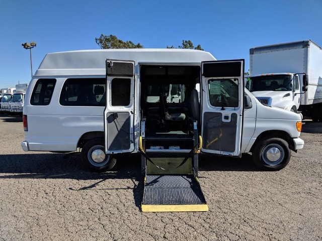 Used 2006 Ford E-250 Extended High Roof Handicap Van with Wheelchair Lift in Fountain Valley, CA