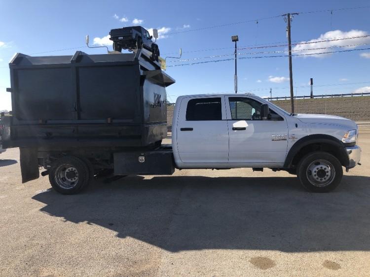 2018 Ram 4500HD Crew Cab Dump Truck DIESEL in Fountain Valley, CA