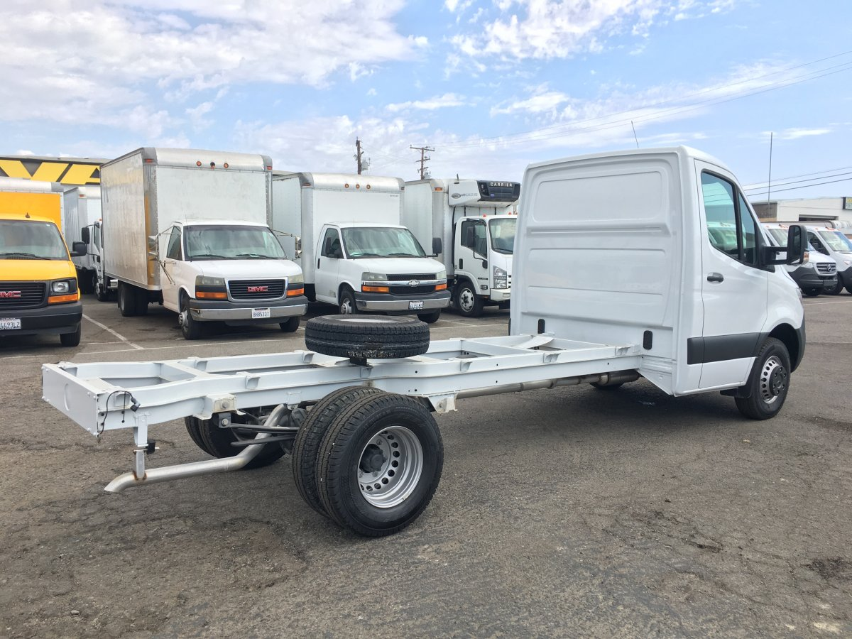 2019 Mercedes-Benz Sprinter 3500 High Roof Cab Chassis DIESEL