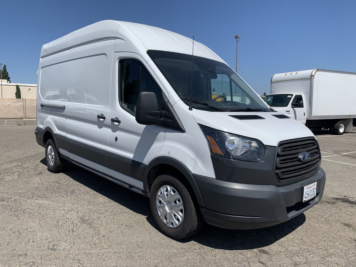 Used 2017 Ford Transit-250 Extended High Roof Cargo Van in Fountain Valley, CA