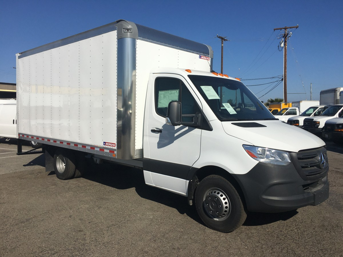 Used 2019 Mercedes-Benz Sprinter 3500 16FT Box Truck DIESEL in Fountain Valley, CA