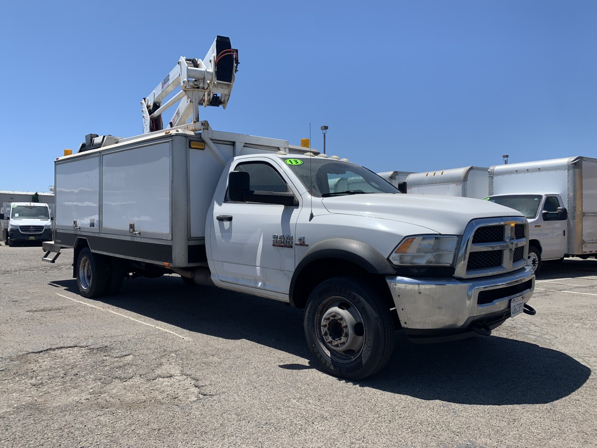 Used 2013 RAM 5500 Boom Utility Truck DIESEL in Fountain Valley, CA