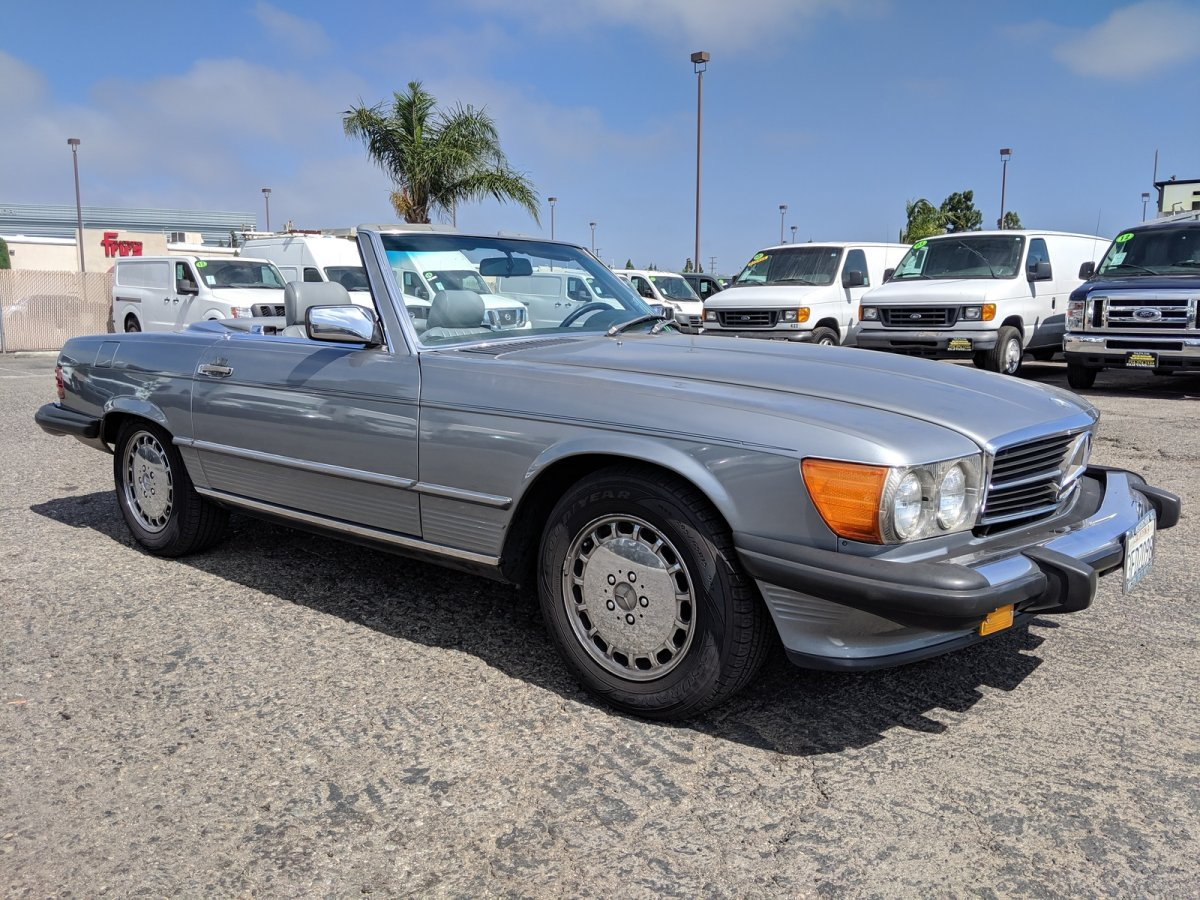 Used 1988 Mercedes-Benz 560 SL Convertible in Fountain Valley, CA