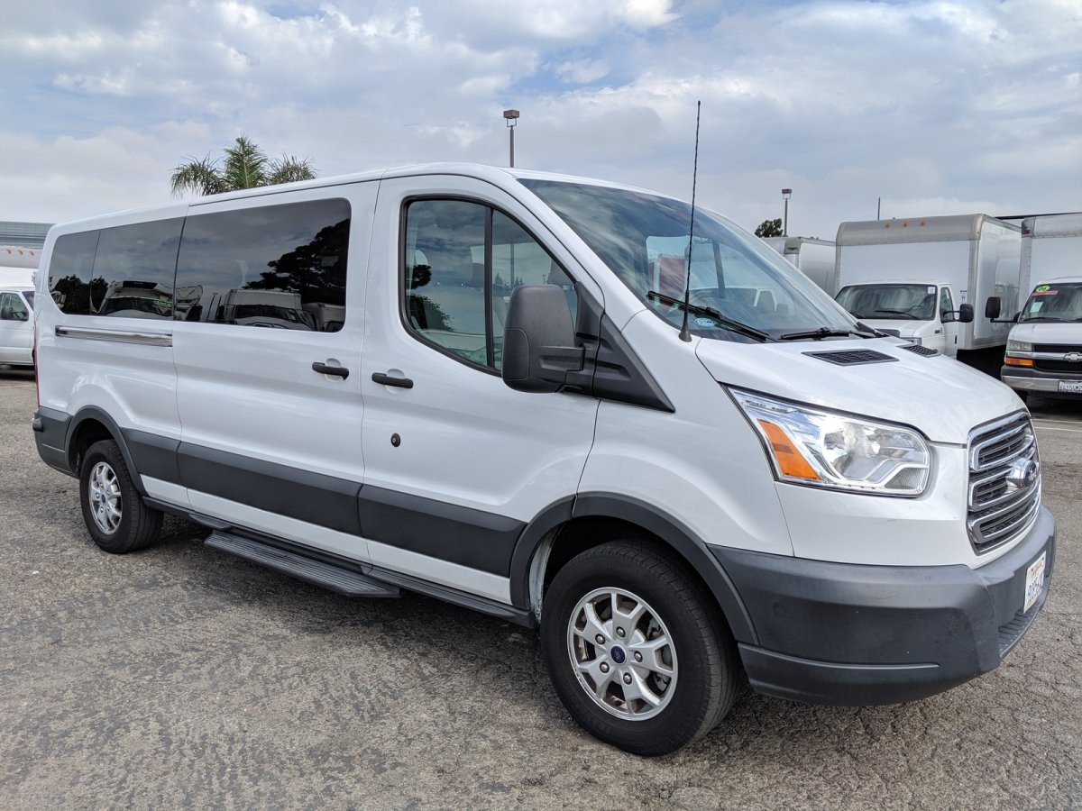 Used 2015 Ford Transit-350 Extended Low Roof 15 Passenger Van in Fountain Valley, CA