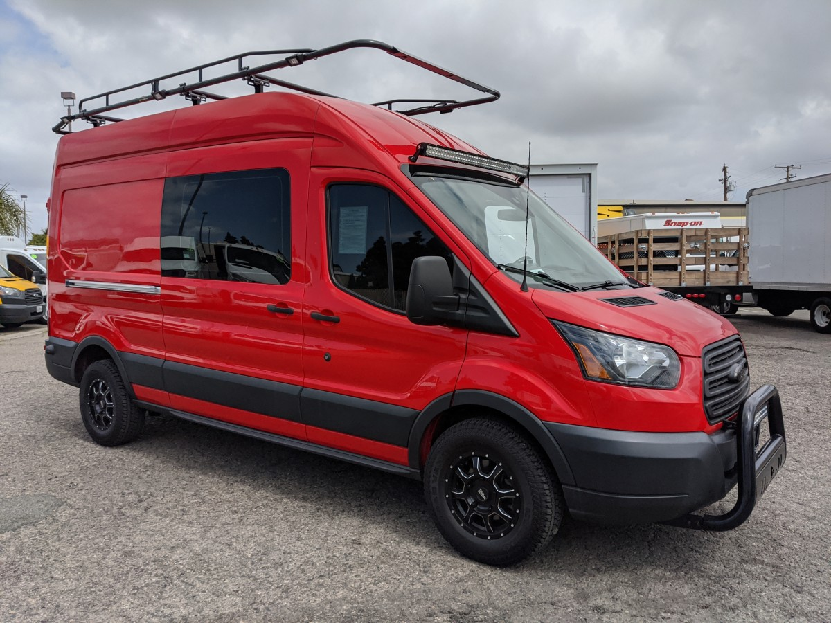 2016 Ford Transit-250 Extended High Roof Cargo Van in Fountain Valley, CA