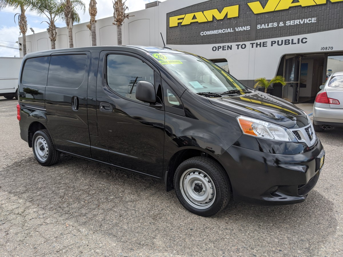 2020 Nissan NV200 Cargo Mini Van in Fountain Valley, CA