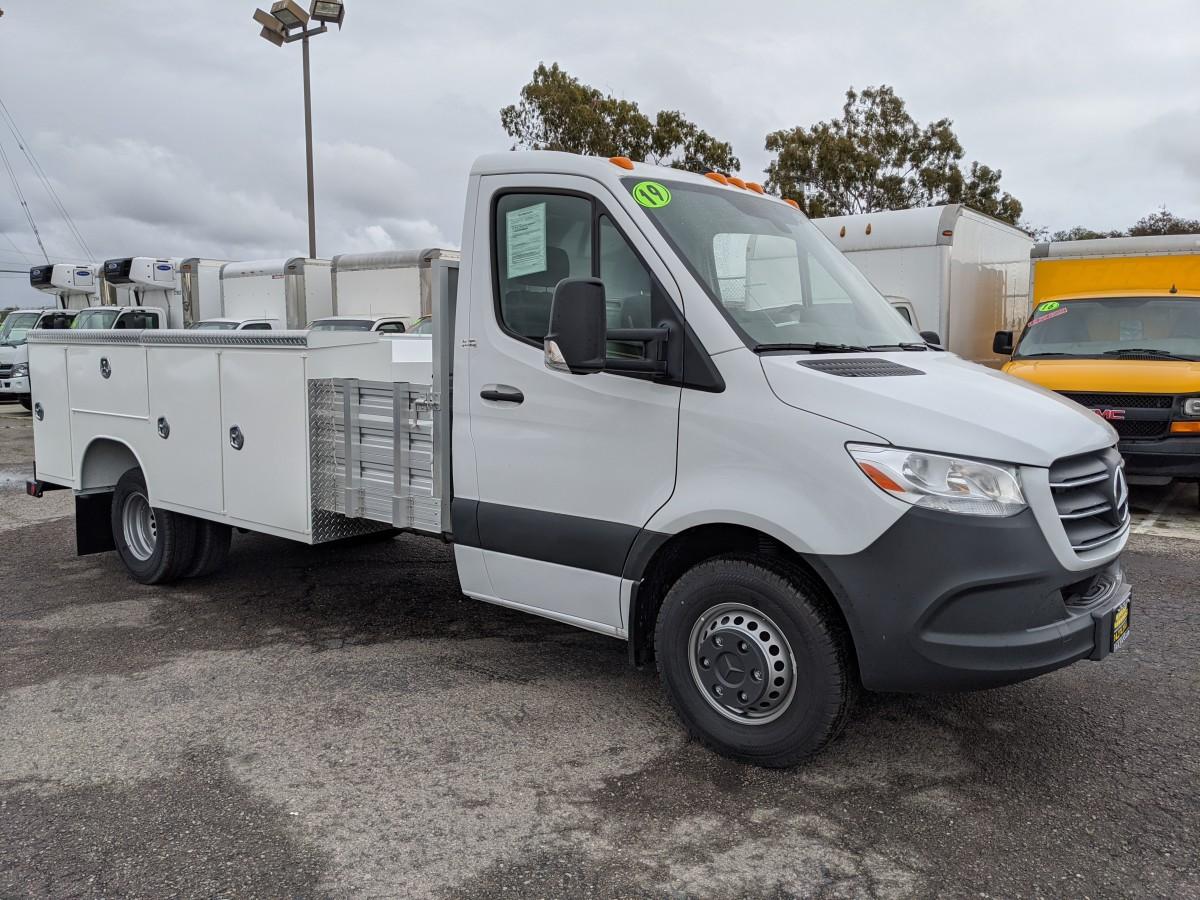 Used 2019 Mercedes-Benz Sprinter 3500 Utility Truck DIESEL in Fountain Valley, CA
