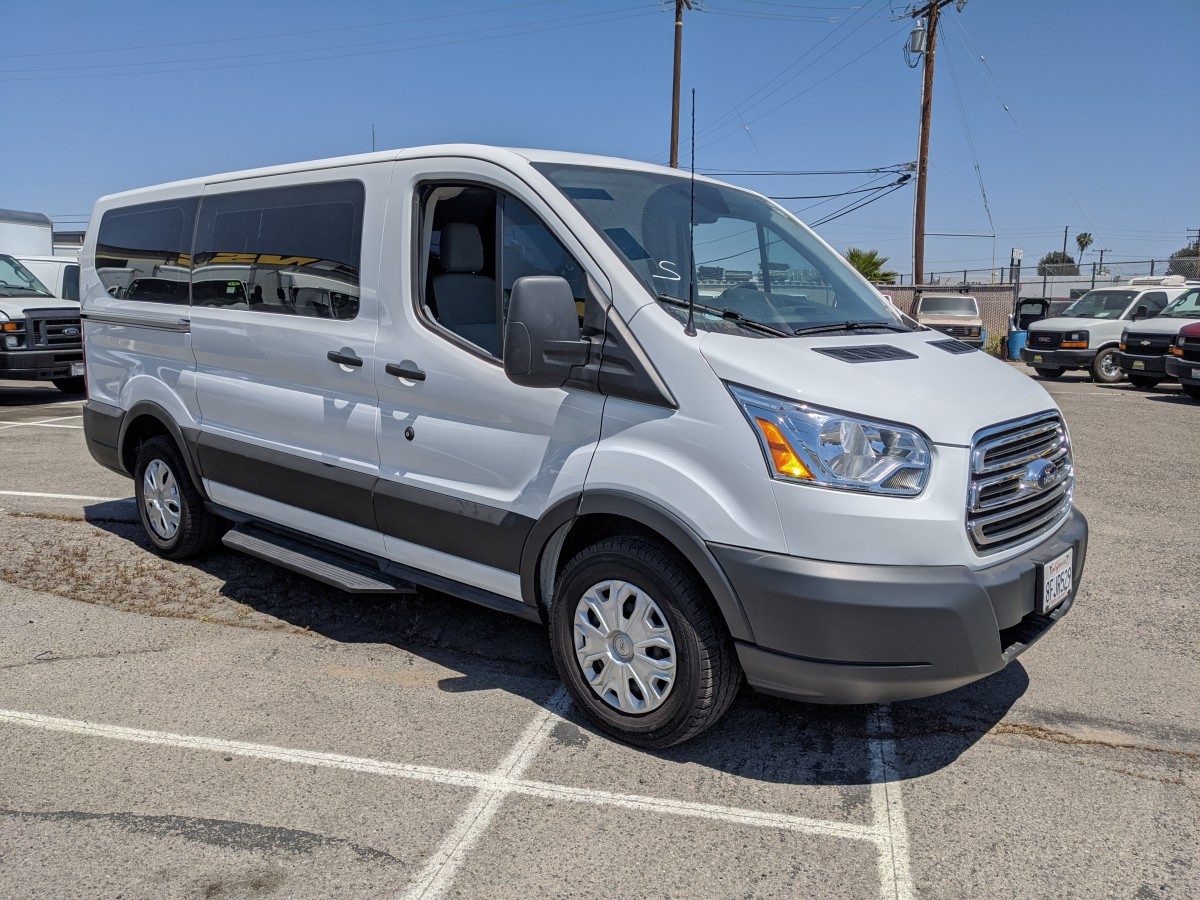 Used 2019 Ford Transit-150 Low Roof Passenger Van XLT in Fountain Valley, CA