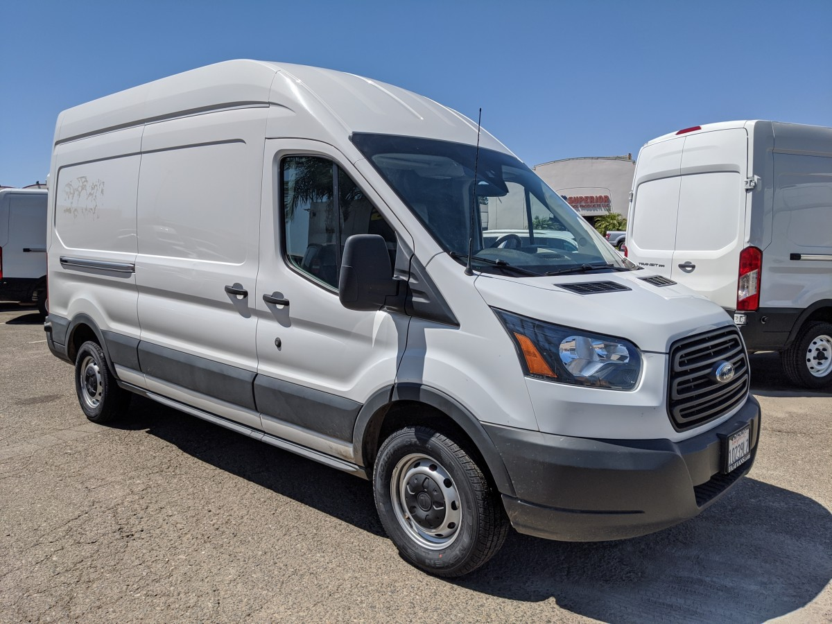 2018 Ford Transit-250 Extended High Roof Cargo Van  in Fountain Valley, CA