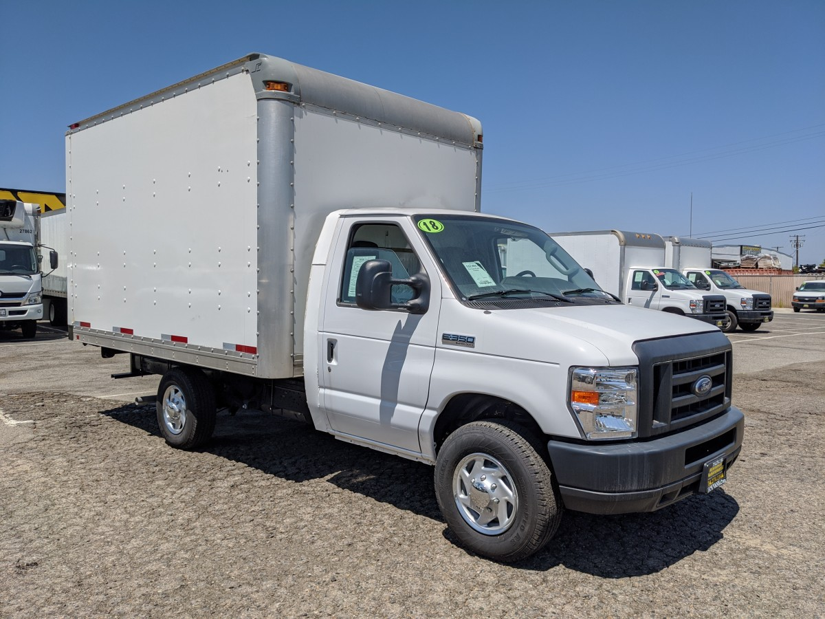 Used 2018 Ford E-350 Box Truck in Fountain Valley, CA