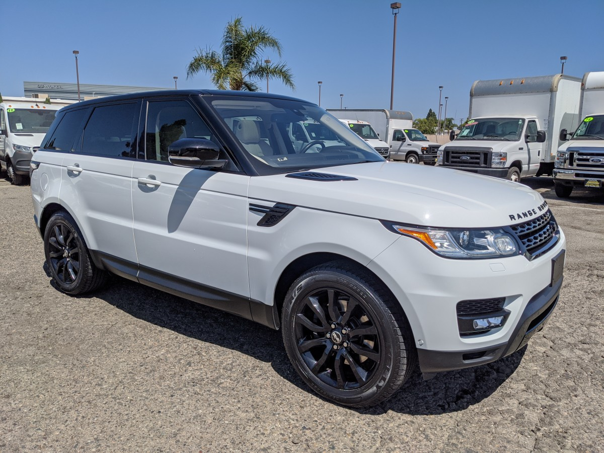 Used 2016 Land Rover Range Rover Sport HSE SUV in Fountain Valley, CA