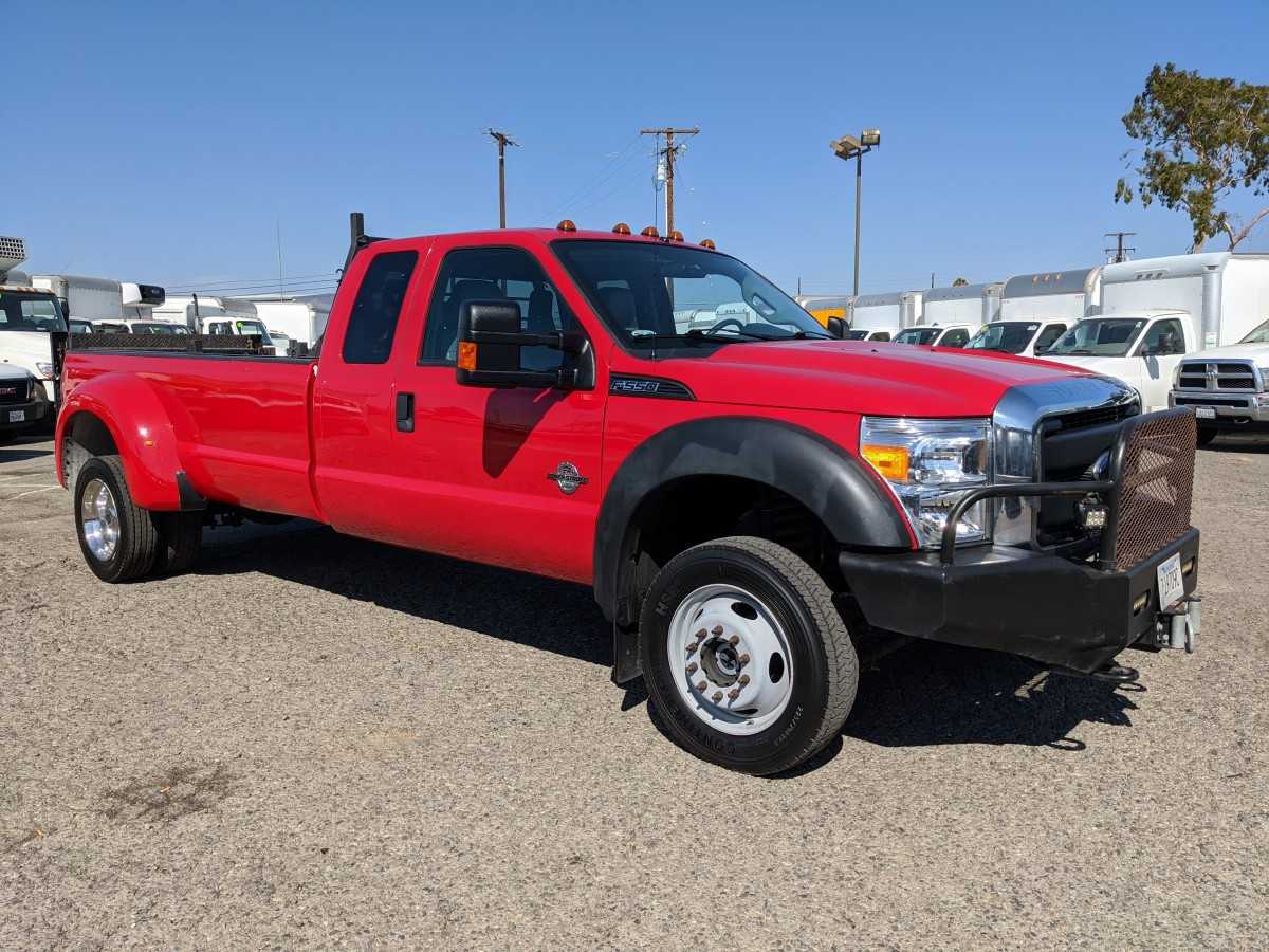 Used 2016 Ford F-550 Crew Cab Pickup Truck with Liftgate DIESEL in Fountain Valley, CA