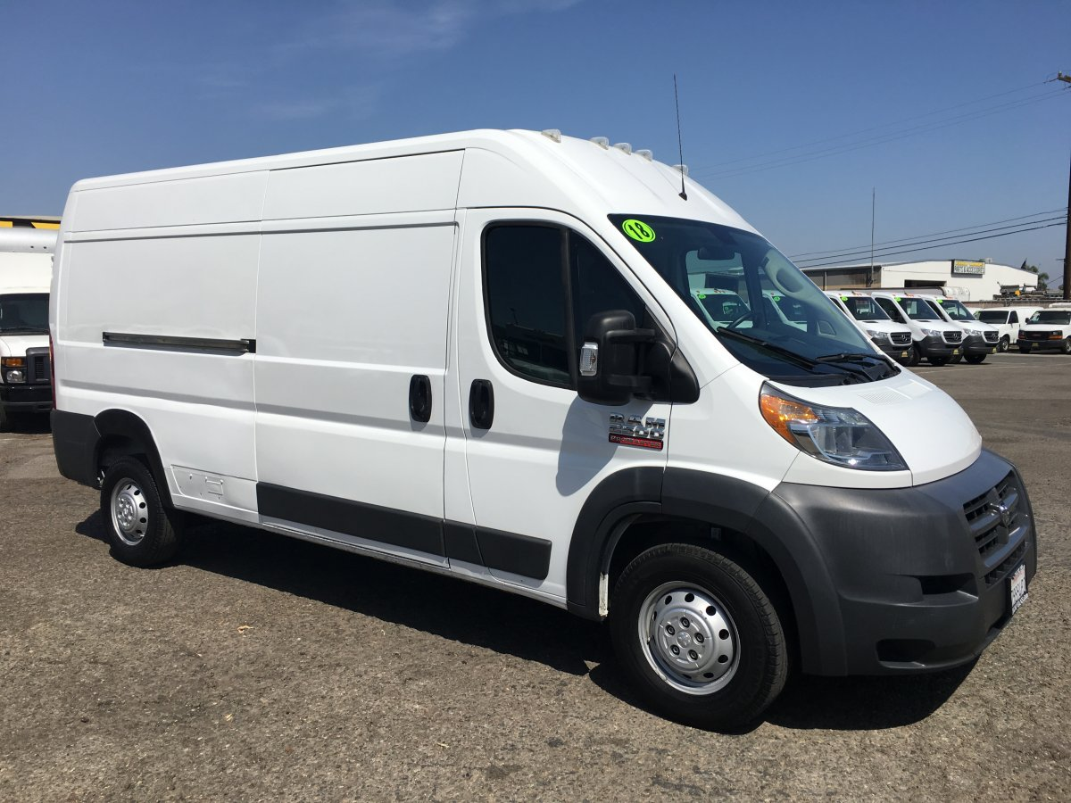 2018 Ram ProMaster 2500 Extended High Roof Cargo Van in Fountain Valley, CA