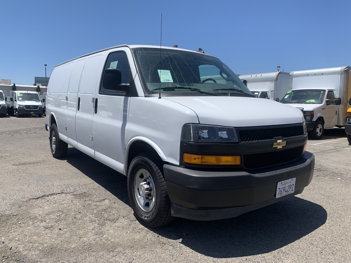 Used 2019 Chevrolet Express 2500 Extended Cargo Van in Fountain Valley, CA