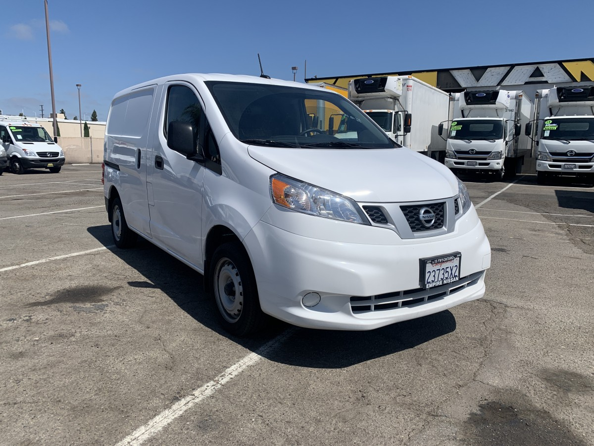 Used 2020 Nissan NV200 S Cargo Mini Van with Bulkhead in Fountain Valley, CA