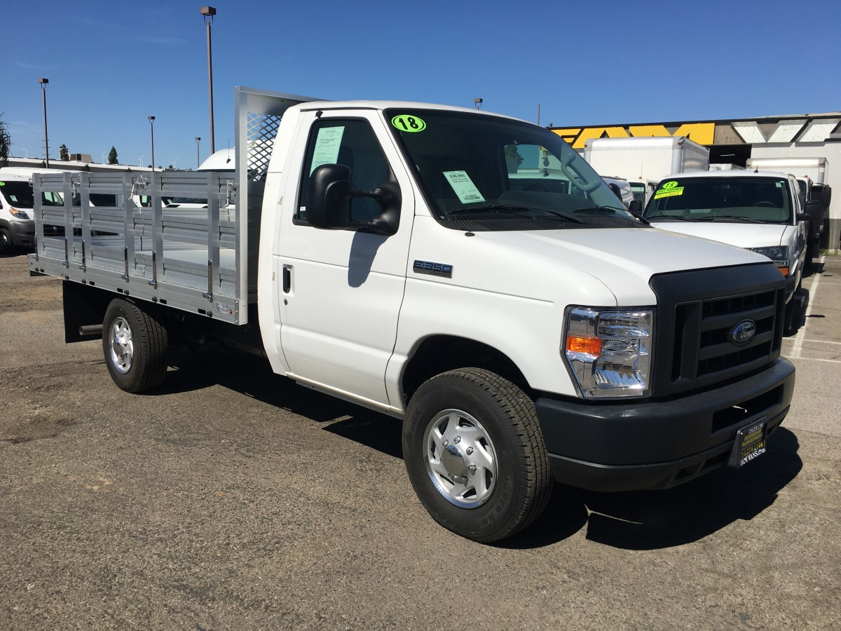 Used 2018 Ford E-350 Stake Bed Truck in Fountain Valley, CA