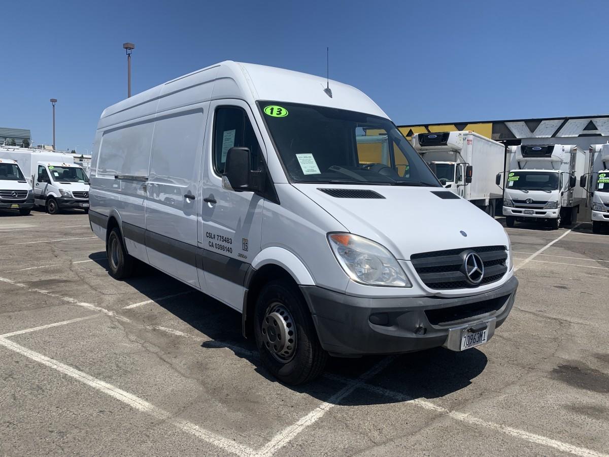 Used 2013 Mercedes-Benz Sprinter 3500 Extended High Roof Cargo Van DIESEL in Fountain Valley, CA