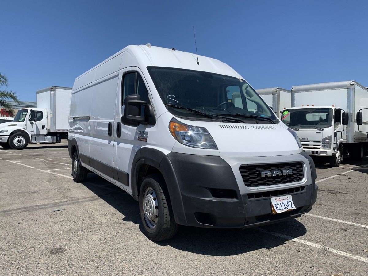 Used 2019 Ram ProMaster 2500 Extended High Roof Cargo Van with Bulkhead in Fountain Valley, CA