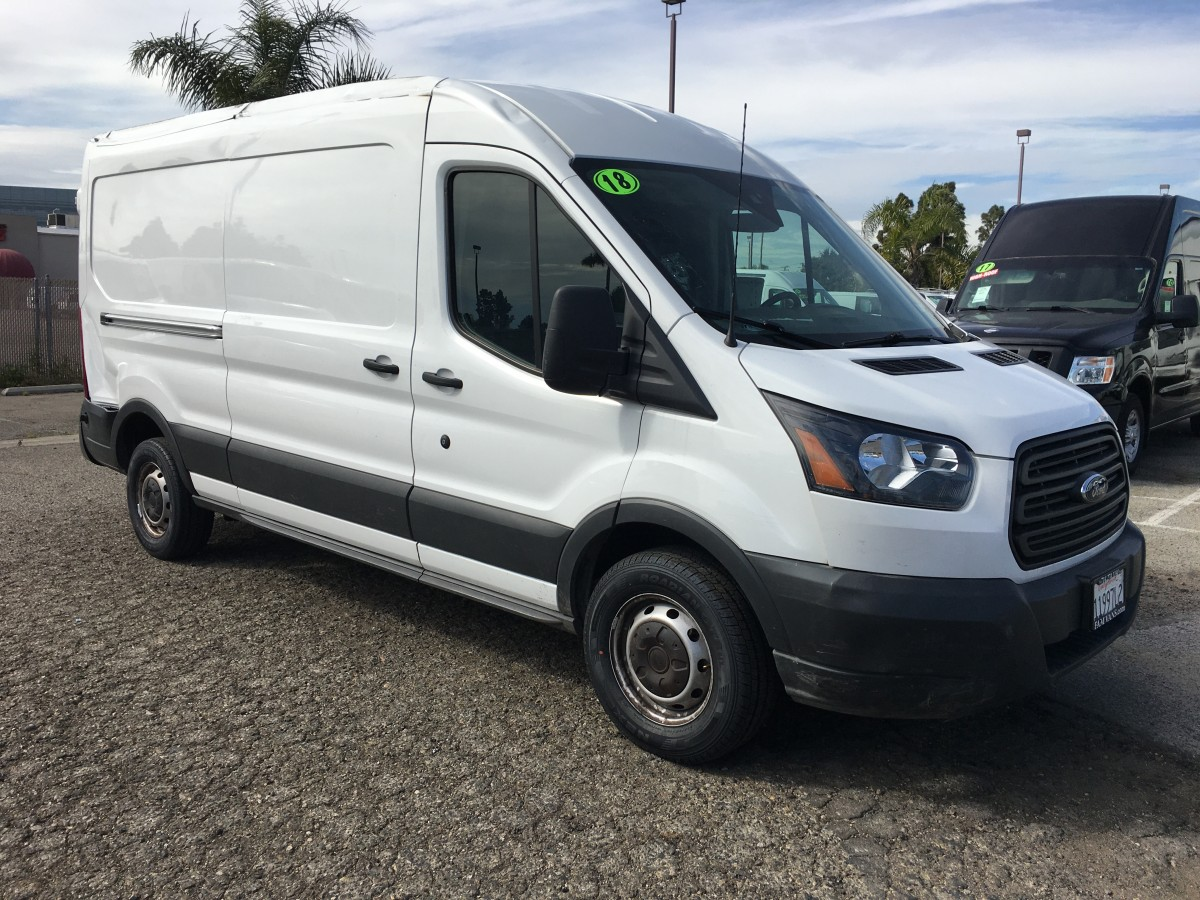 2018 Ford Transit-250 Extended Mid Roof Cargo Van Ding and Dent in Fountain Valley, CA