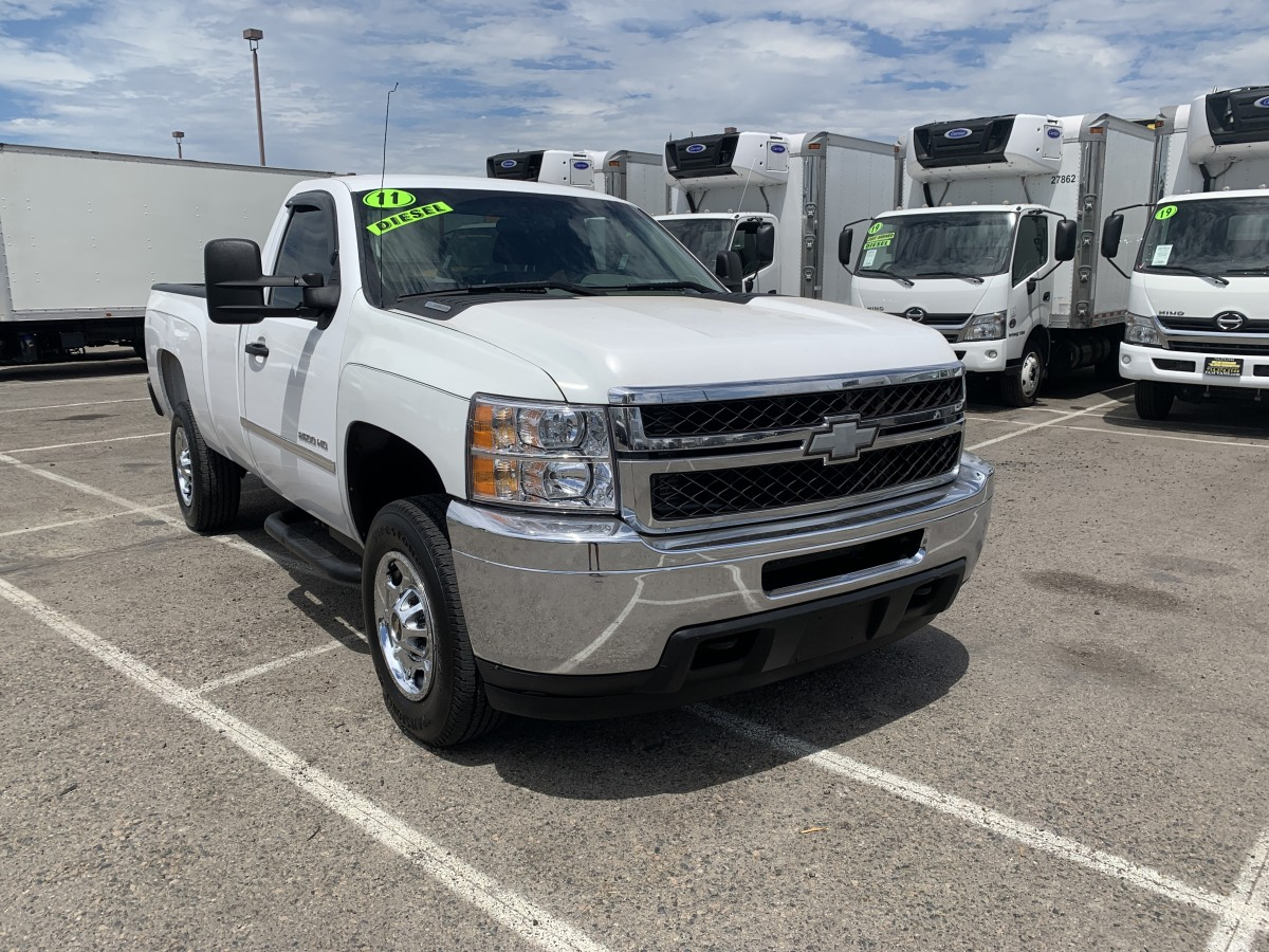 Used 2011 Chevrolet Silverado 2500 HD Pickup Truck DIESEL in Fountain Valley, CA