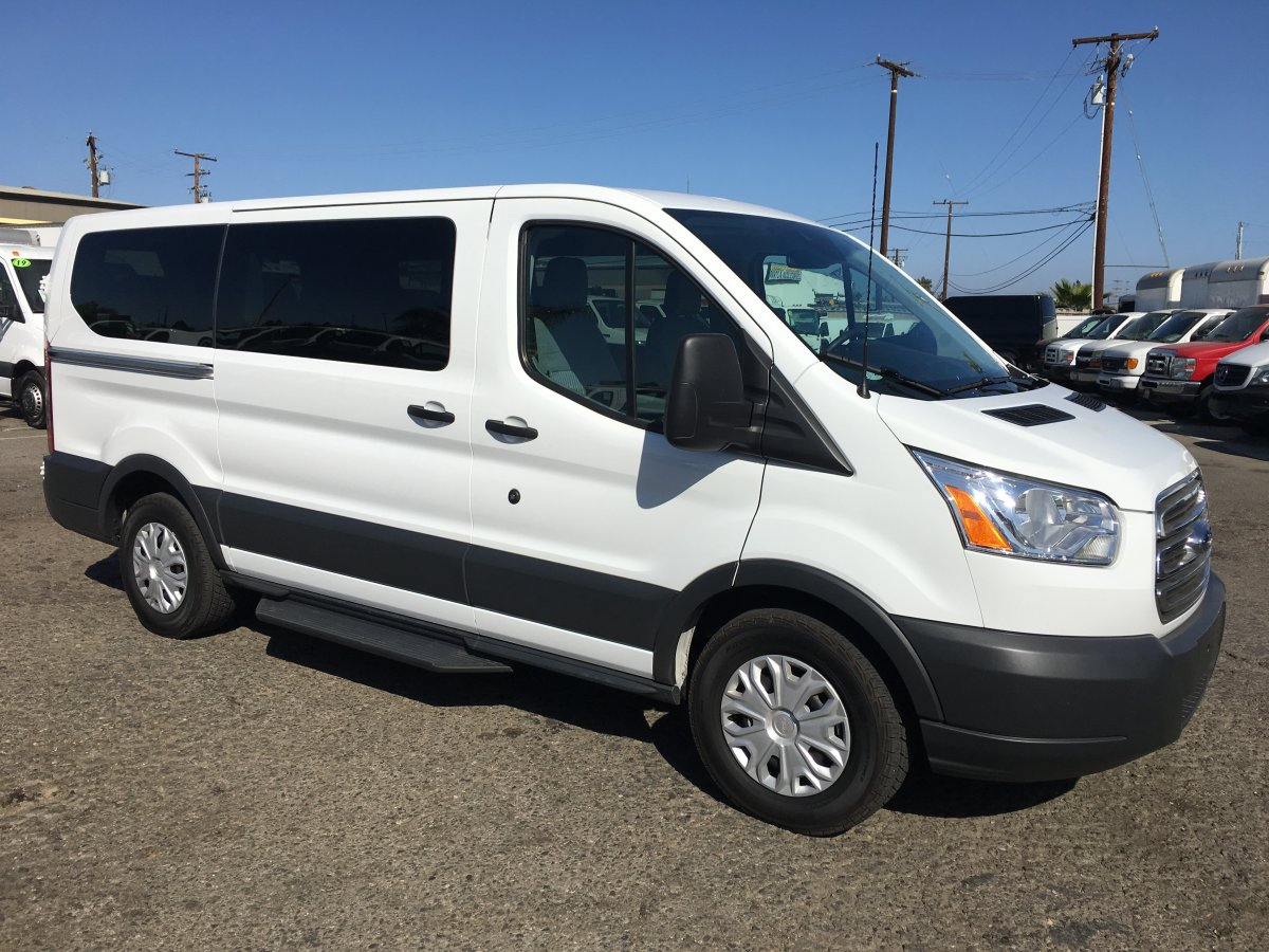 Used 2018 Ford Transit-150 Low Roof 9 Passenger Van XLT in Fountain Valley, CA