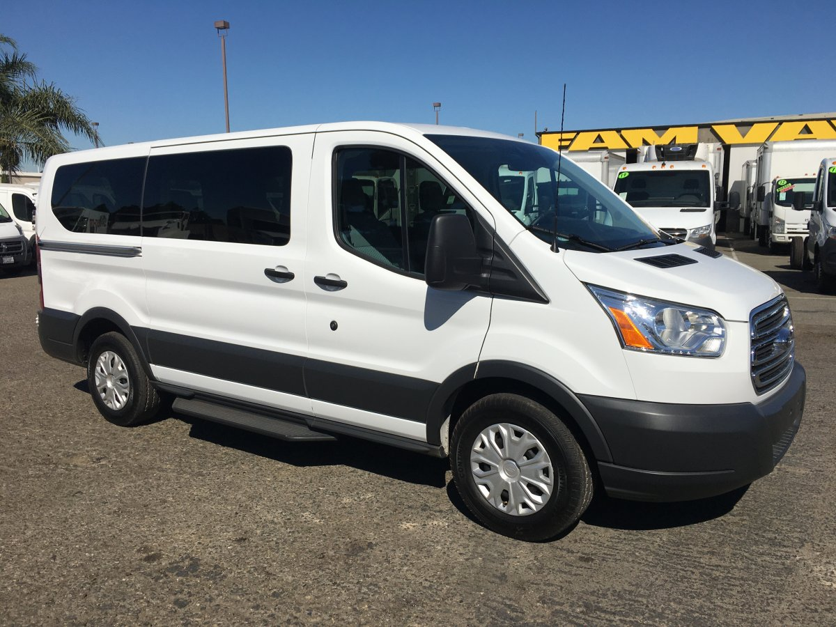 Used 2018 Ford Transit-150 Low Roof Passenger Van XLT in Fountain Valley, CA