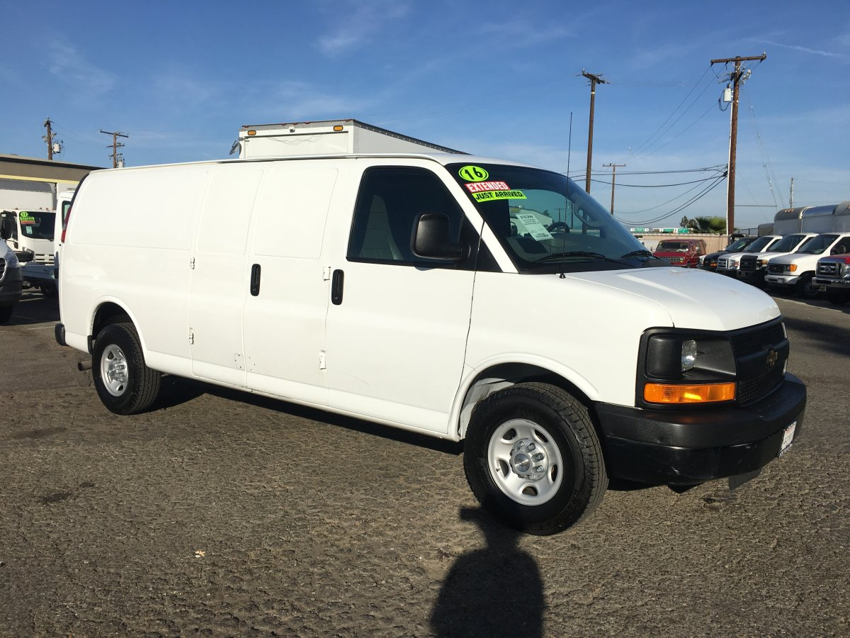 Used 2016 Chevrolet Express 2500 Extended Cargo Van in Fountain Valley, CA