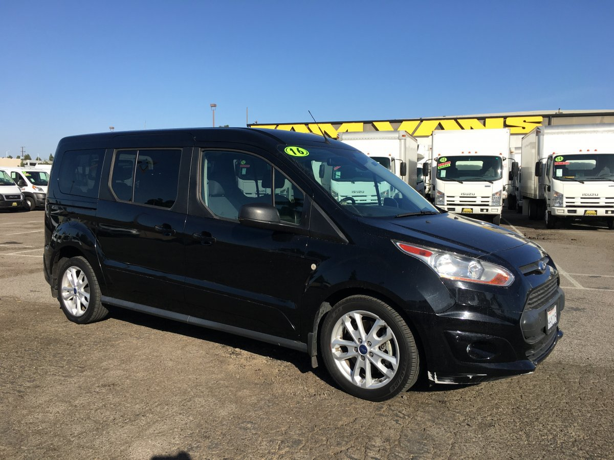 Used 2016 Ford Transit Connect Passenger Mini Van XLT in Fountain Valley, CA