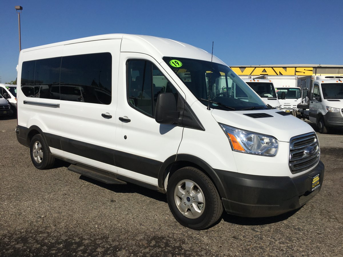 2019 Ford Transit-350 Extended Mid Roof 15 Passenger Van XLT in Fountain Valley, CA