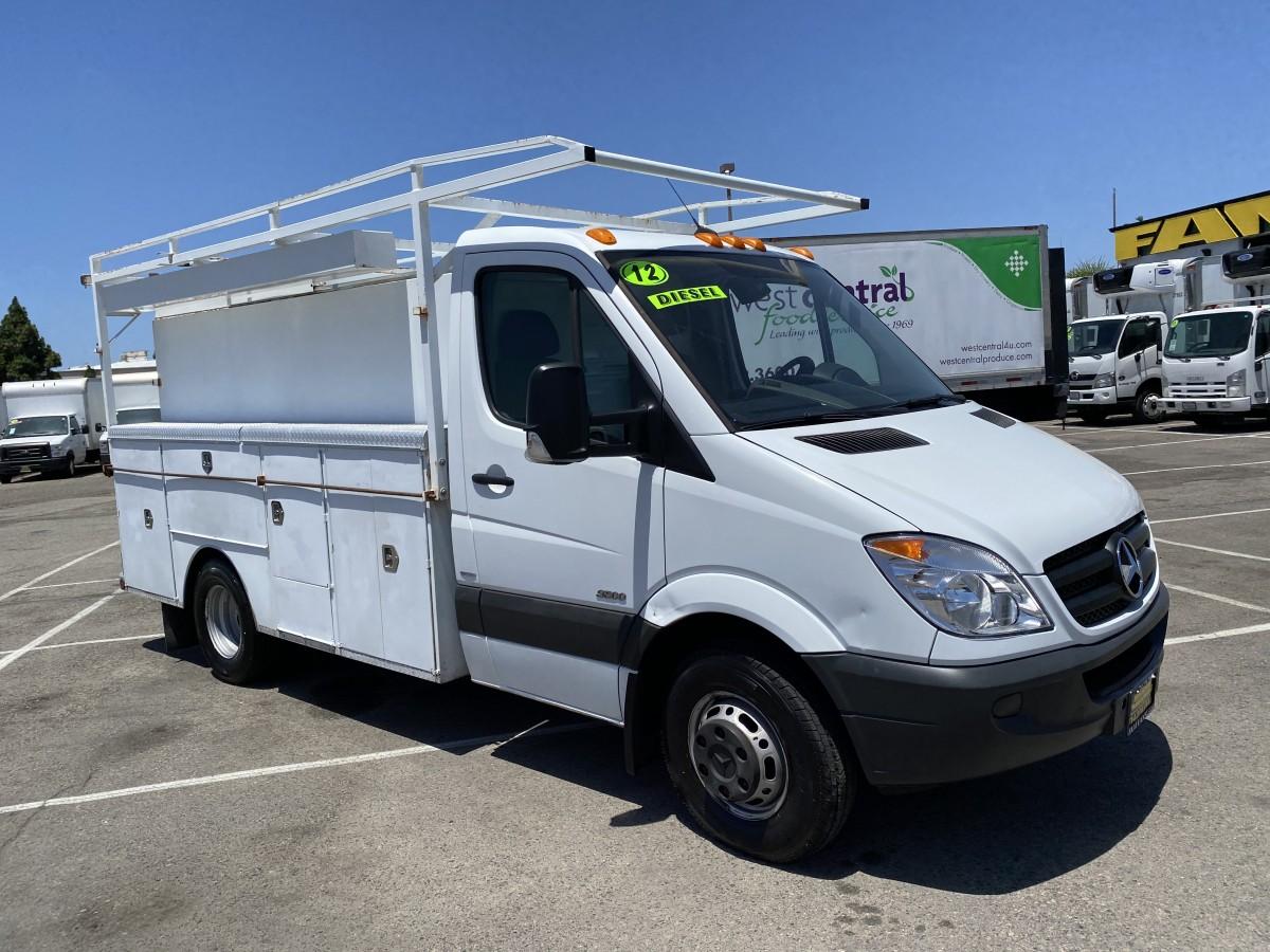 Used 2011 Mercedes-Benz Sprinter 3500 Utility Truck DIESEL in Fountain Valley, CA