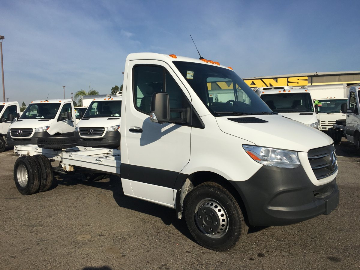 Used 2019 Mercedes-Benz Sprinter 3500 Cab Chassis DIESEL in Fountain Valley, CA
