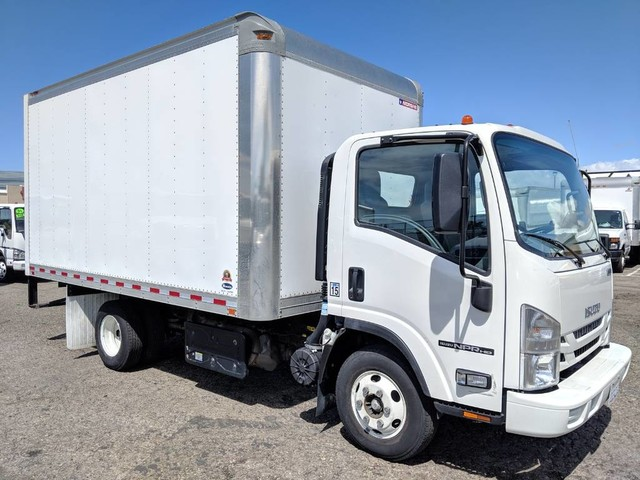 2018 Isuzu NPR HD 14FT Box Truck DIESEL in Fountain Valley, CA