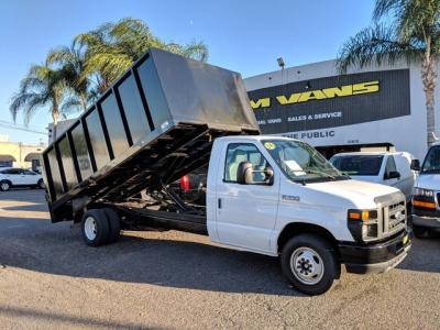 2014 Ford E-350 SD 14ft Dump Truck in Fountain Valley, CA