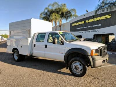 2006 Ford F-450 4x4 Utility Truck DIESEL in Fountain Valley, CA