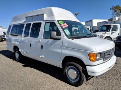 2006 Ford E-250 Extended High Roof Handicap Van with Wheelchair Lift