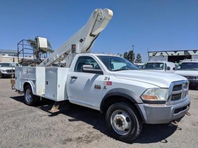 2011 Ram 5500 ST Boom Arm Utility Truck DIESEL