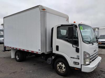 2008 Isuzu NPR 14ft Box Truck in Fountain Valley, CA