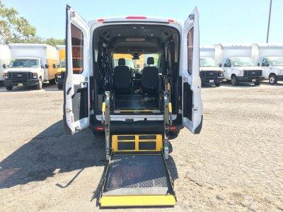 2017 Ford Transit-150 Mid Roof Handicap Van with Wheelchair Lift DIESEL