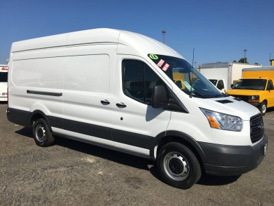 2018 Ford Transit-250 Extended Long High Roof Cargo Van XL