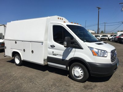 2017 Ford Transit-350 HD  Plumber Truck DIESEL in Fountain Valley, CA