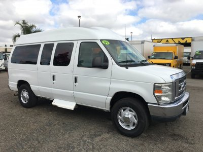 2009 Ford E-150 High Roof Camper Ready Cargo Van in Fountain Valley, CA