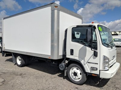 2015 Isuzu NPR HD 16ft Box Truck with Liftgate
