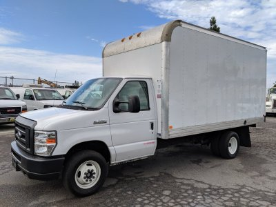 2018 Ford E-350 14FT Box Truck with Loading Ramp in Fountain Valley, CA