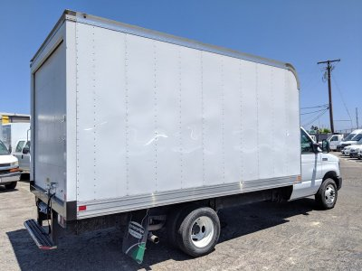 2018 Ford E-350 14ft Box Truck SD with Loading Ramp in Fountain Valley, CA