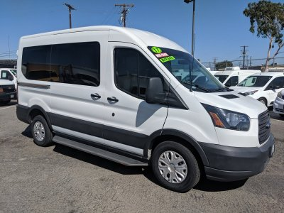 2017 Ford Transit-150 Mid Roof Handicap Cargo Van with Gurney Equipment DIESEL in Fountain Valley, CA