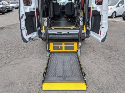 2016 Ford Transit-150 Mid Roof Handicap Van with Wheelchair Lift DIESEL in Fountain Valley, CA