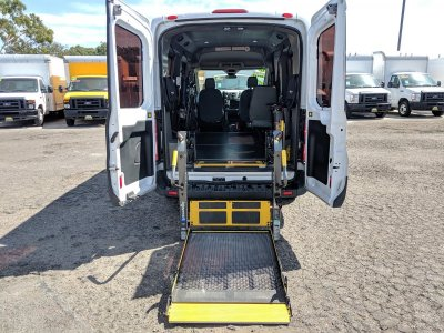 2017 Ford Transit-150 Mid Roof Handicap Van with Wheelchair Lift XL DIESEL in Fountain Valley, CA