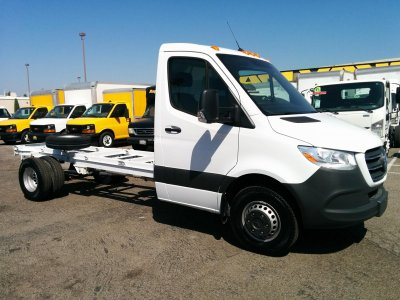 2019 Mercedes-Benz Sprinter 3500 High Roof Cab Chassis DIESEL in Fountain Valley, CA