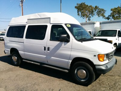 2001 Ford E-350 High Roof Camper Ready Cargo Van in Fountain Valley, CA